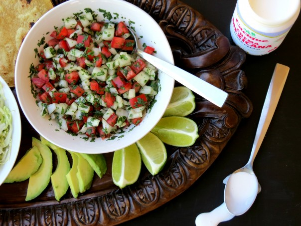 Pico and limes   Sonoran Spice