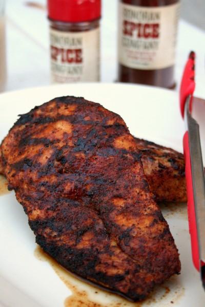 Grilled Chicken with Sonoran Spice Chipotle Powder