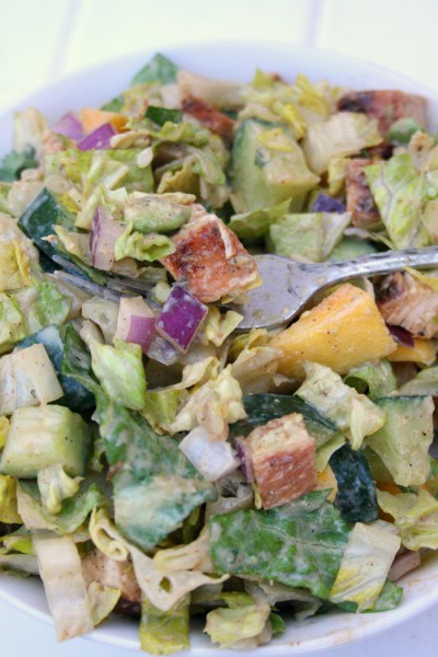 Tossed Chipotle Chicken Mango Salad