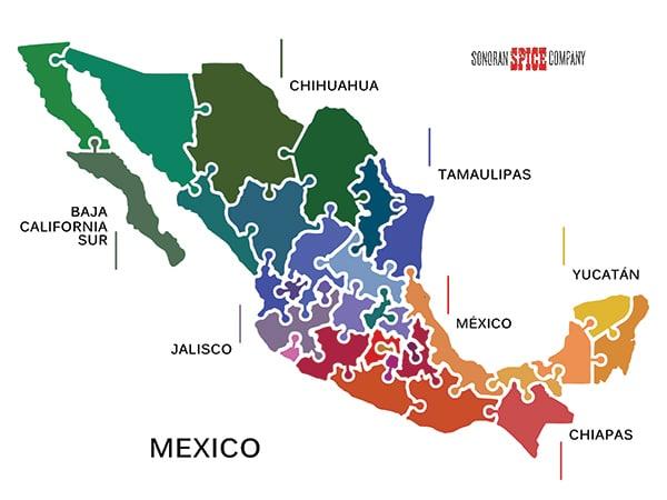 Mexico States   Sonoran Spice