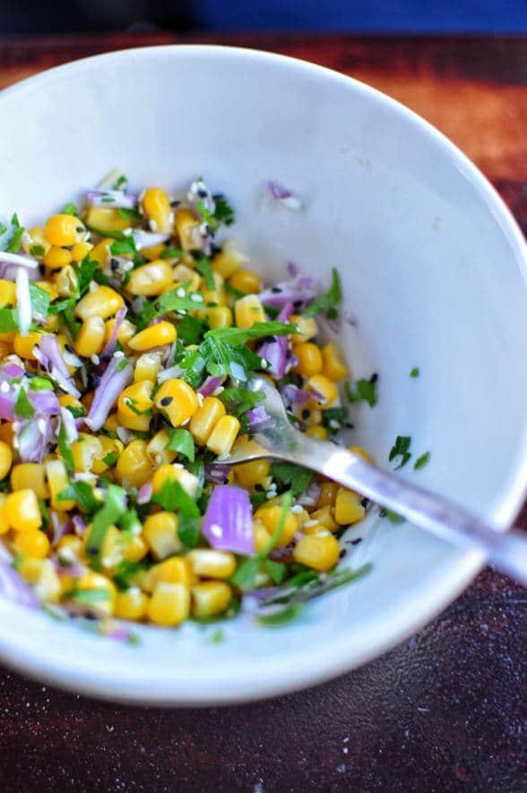 Corn salsa - Sonoran Spice