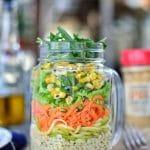 Spicy Couscous Salad Jar Recipe - Sonoran Spice