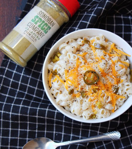 Jalapeno Mac and Cheese Recipe With Sonoran Spice Jalapeno Powder