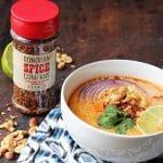 thai soup using sonoran spice trinidad moruga scorpion flakes
