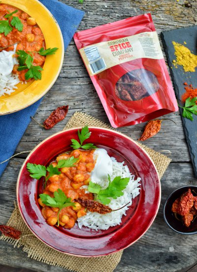 Chickpea Tikka Masala | Sonoran Spice Ghost Peppers