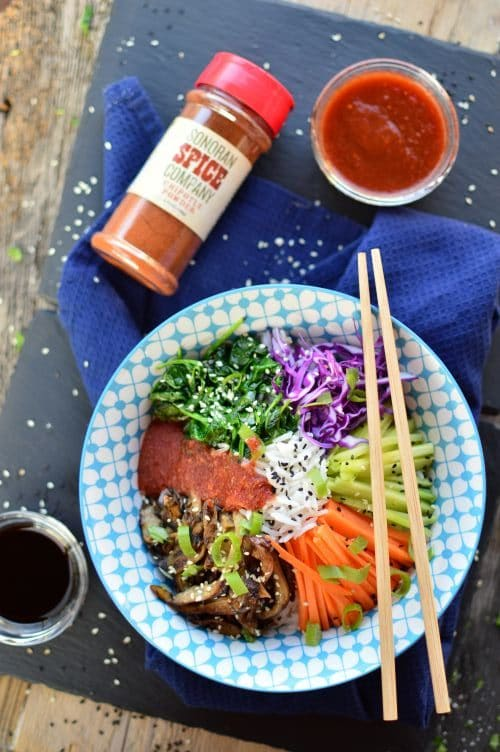 Vegan Bibimbap | Sonoran Spice Chipotle Powder