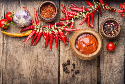 Growing your own chili peppers | Sonoran Spice | Dried peppers, crushed pepper flakes, and a pepper puree