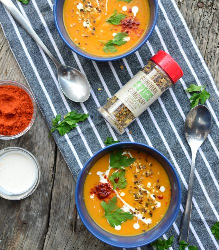 Sweet Potato Soup | Sonoran Spice Jalapeno Flakes