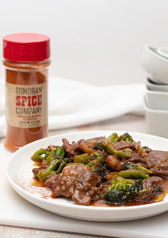 Trinidad Scorpion Beef & Broccoli