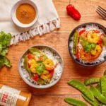 Spicy Ghost Pepper Shrimp with Coconut Milk