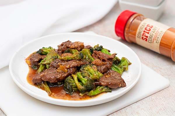 Spicy Trinidad Scorpion Beef and Broccoli